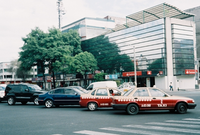 Rollei 35S, 35mm film Mexico City, Mexico 2015