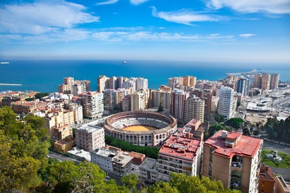 صورة لمدينة مالقا الإسبانية