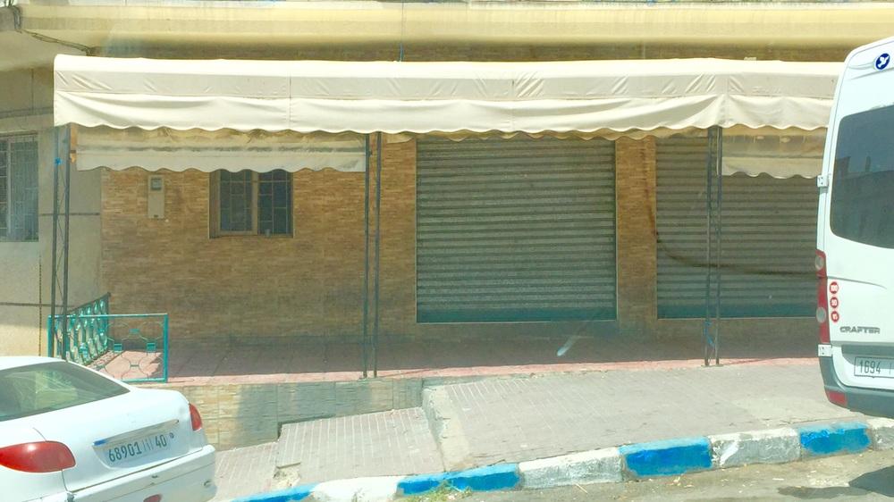 صورة لمقهى رضوان الزين خلال نهار رمضان