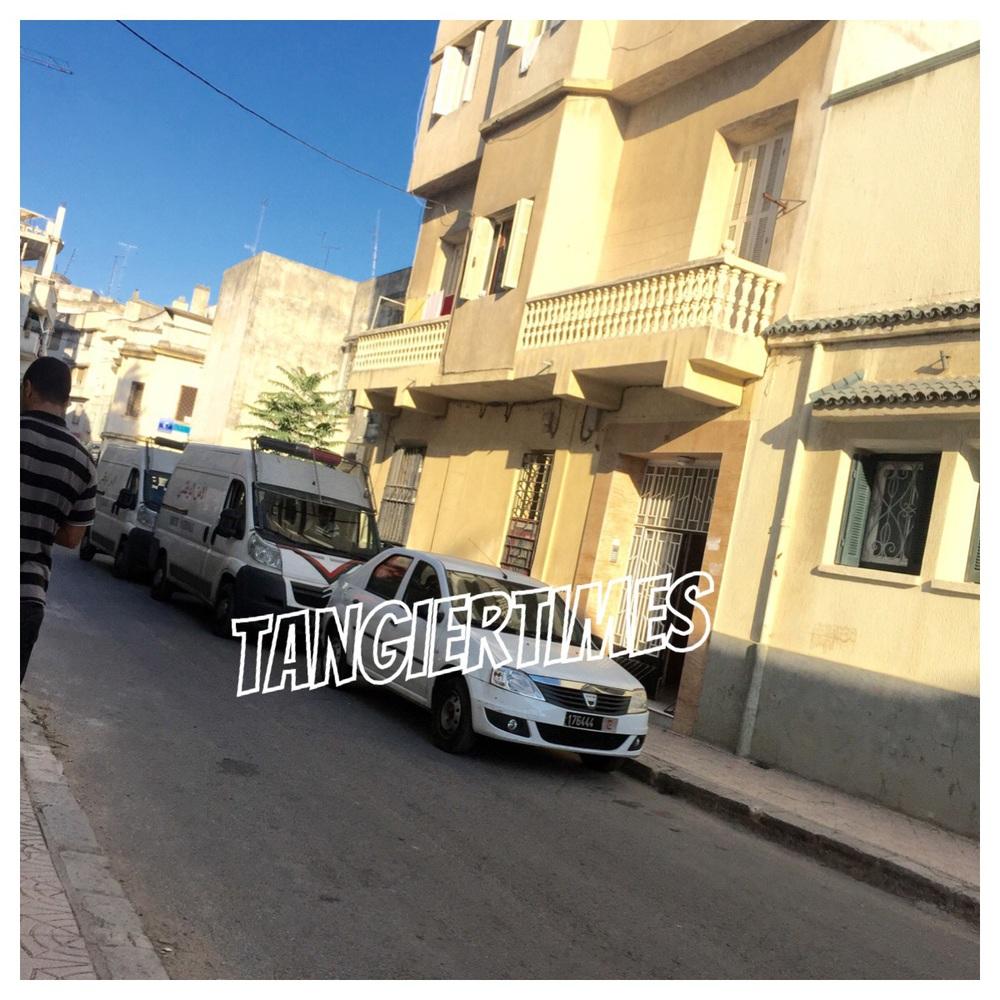 """صورة للمنزل الذي اعتقل فيه """"أنوار"""" اخو الشرطي بالقرب من إعدادية عائشة"""