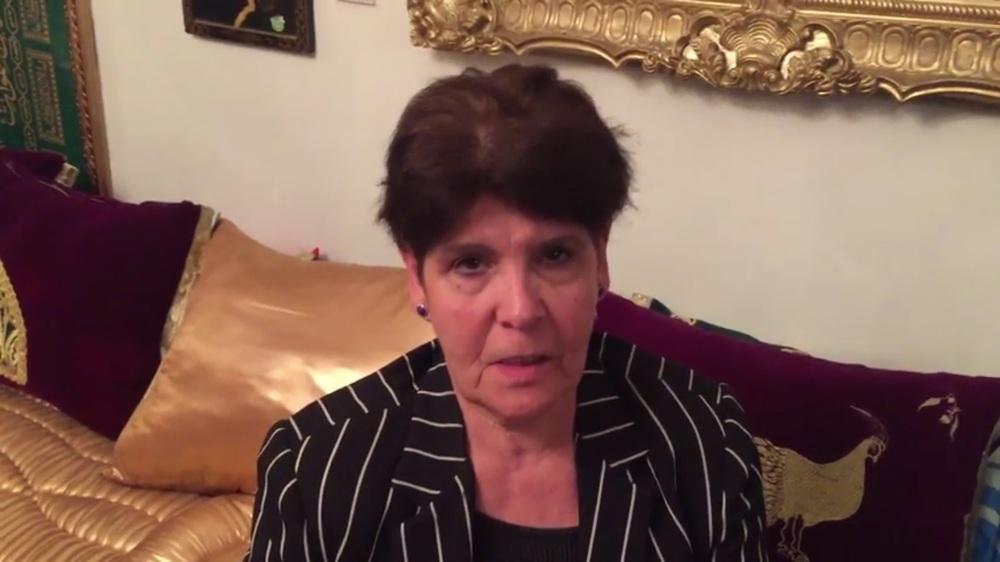 صورة لرئيسة السنديك