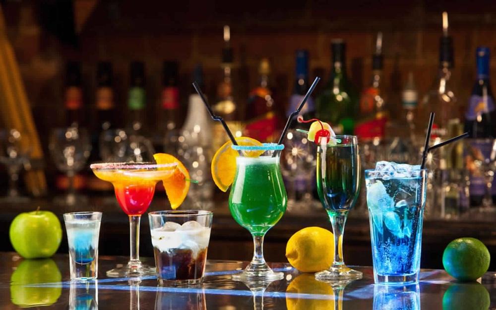 صورة للمشروبات الكحولية