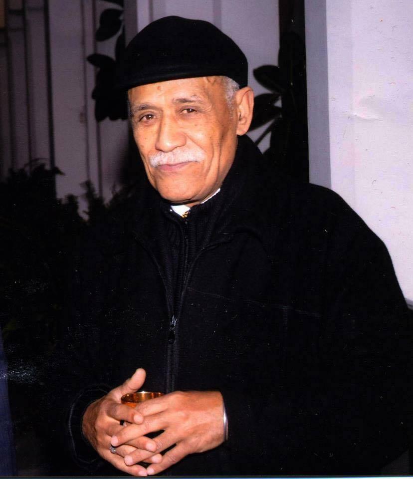 """صورة لقيدوم الصحفيين المغاربة محمود بن هاشم العلوي البلغيتي مؤسس المجموعة الإعلامية """"الاثنين ميديا"""""""
