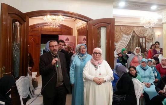 حضور عمدة طنجة محمد البشير العبدلاوي المنتمي لحزب العدالة والتنمية حفل الزفاف الجماعي