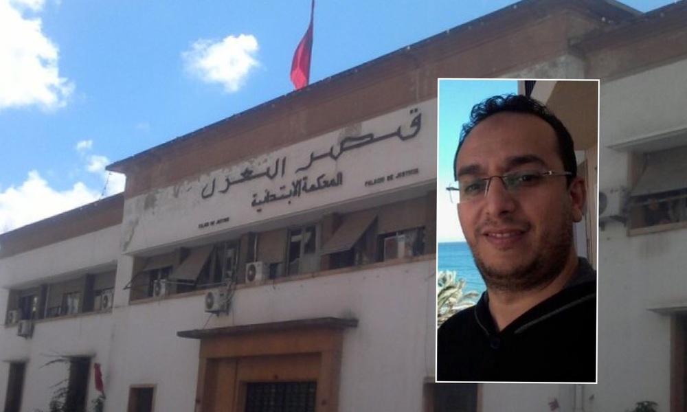 """صورة الصحفي """"عمر بنشعيب"""" المتهم بالتشهير بزميل له في المهنة"""