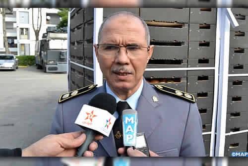 """الكولونيل ماجور """"عبدالله الدشري"""" الذي أسقط الصيد الثمين، قبل نقله الى المنطقة الجنوبية"""