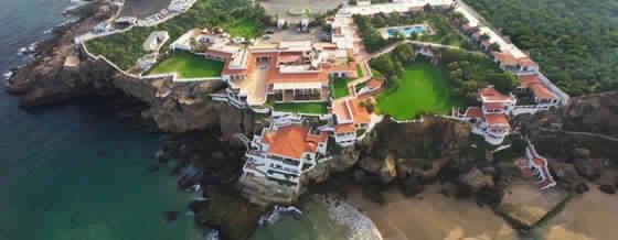صورة لفندق الميراج من الأعلى