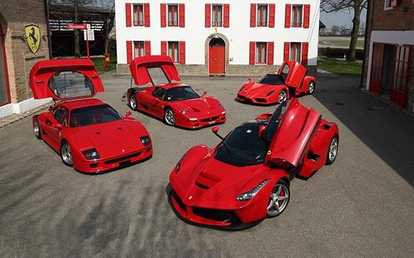 سيارات فيراري الفائقة السرعة