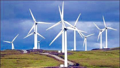 طواحن هوائية لتوليد الطاقة الريحية