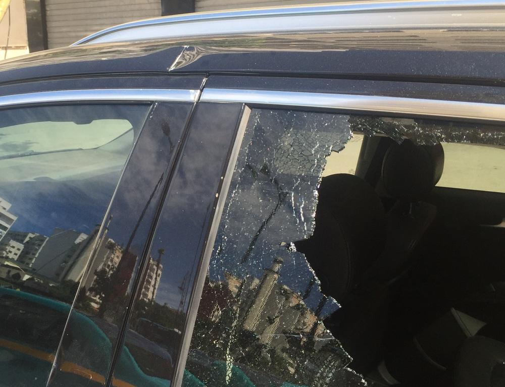 جزء من الاعتداء الإرهابي لحق سيارة الضحية