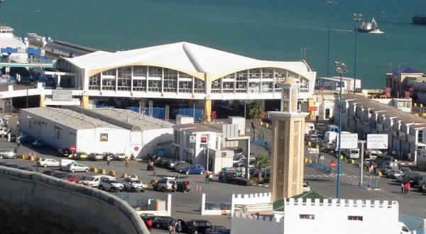 ميناء طنجة المدينة