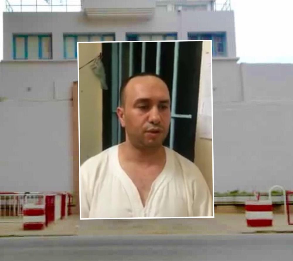 """صورة من فيديو """"بنحدو"""" داخل السجن المحلي بطنجة"""