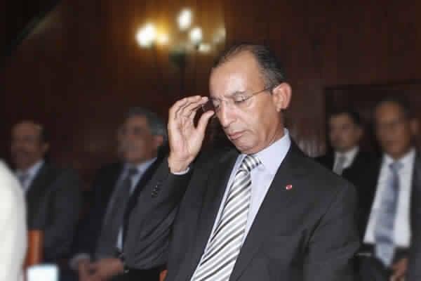 وزير الداخلية محمد حصاد