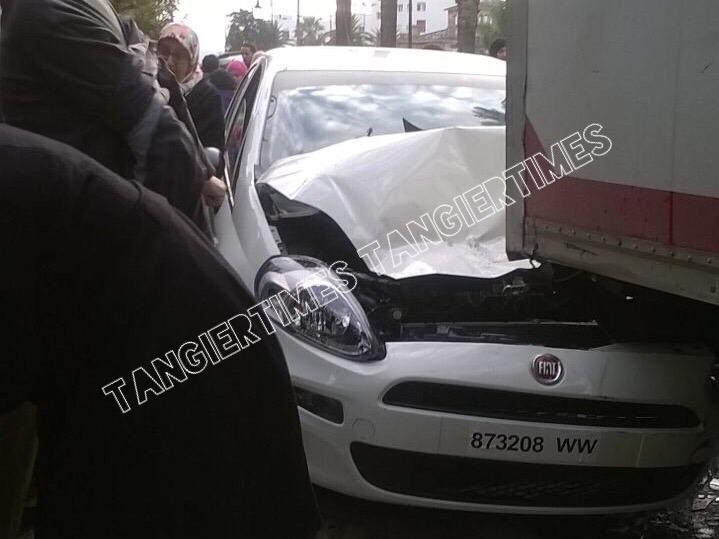 هروب السائق بعد الحادثة