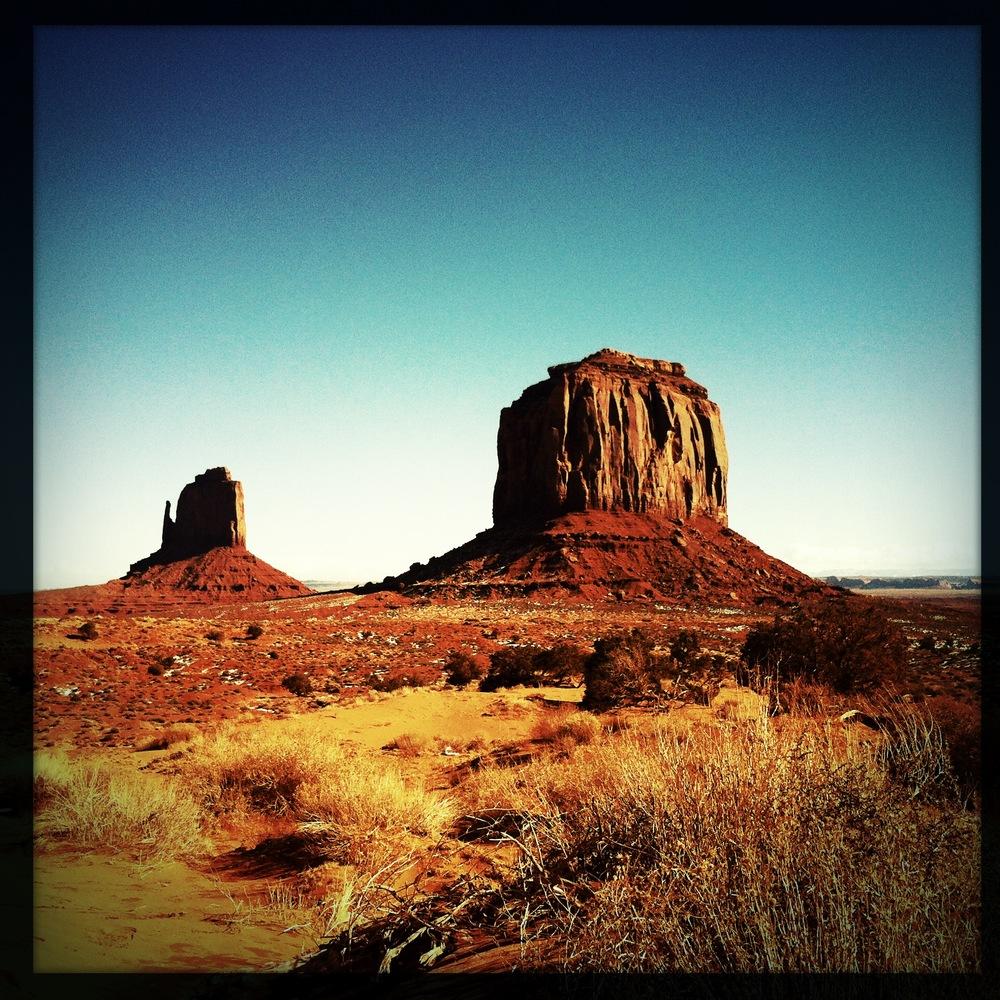 Monument Valley, janvier 2013