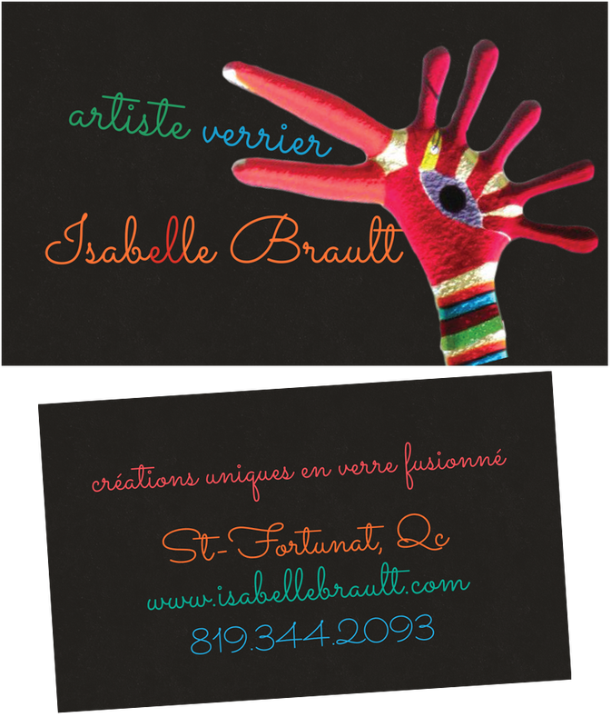 Carte d'affaires Isabelle Brault - 2012