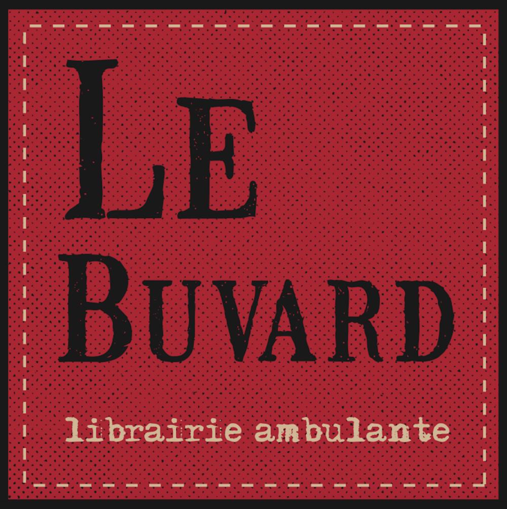 Logo Le Buvard-librairie ambulante (Michel Vézina), hiver 2015