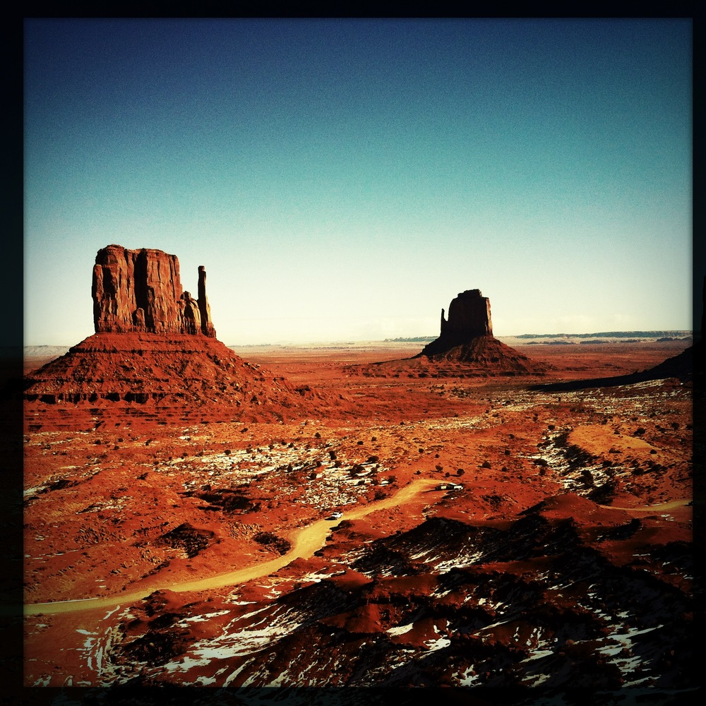 Grandiose Monument Valley , Utah, janvier 2013