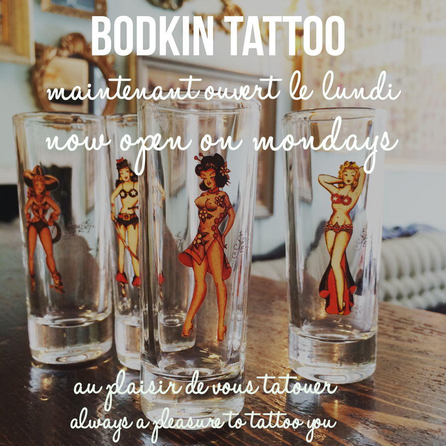 Publicité Bodkin Tattoo juillet 2016