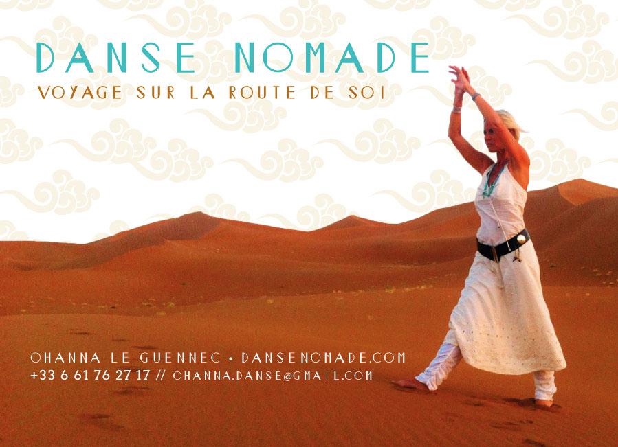 Carte Postale Danse Nomade, 2015