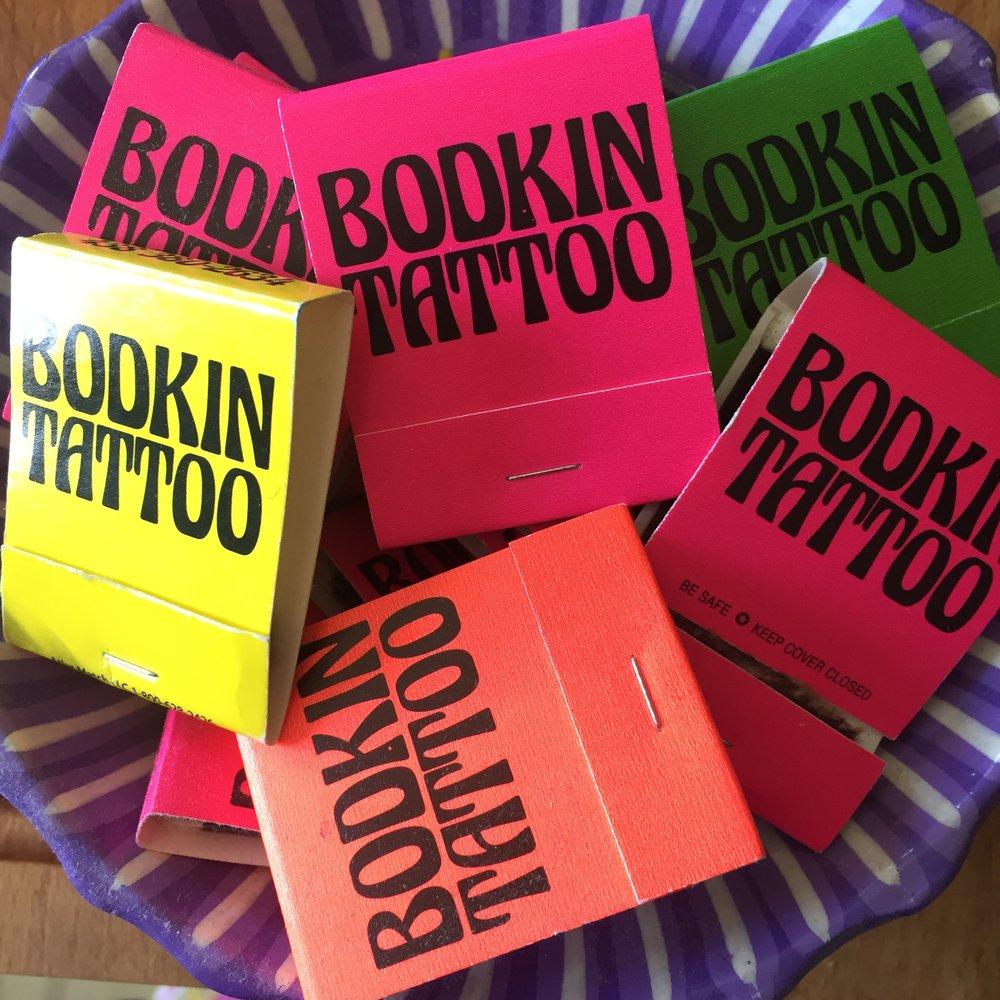 Allumettes Bodkin Tattoo
