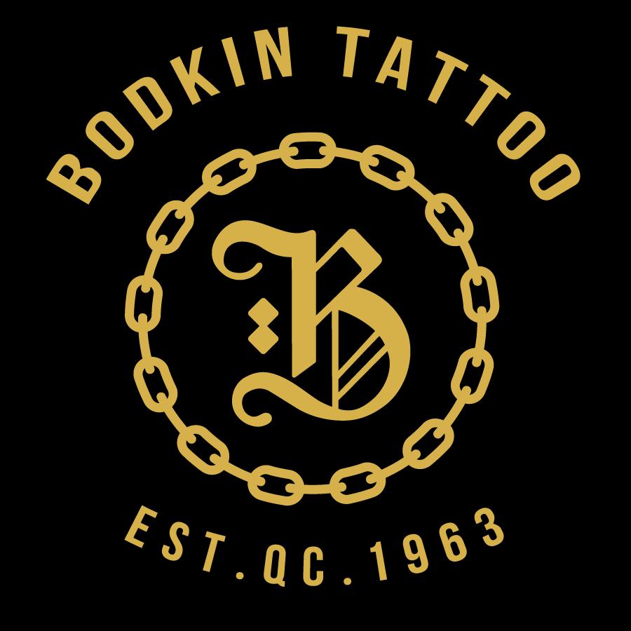 Logo pour T-shirts et autocollants, été 2017, Bodkin Tattoo