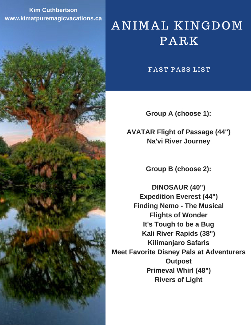 Animal Kingdom Park Fast Pass list.jpg