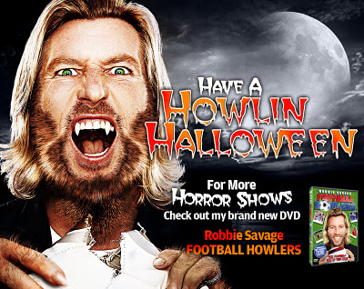 Robbie Savage, DVD, Hair, Makeup, Fangs