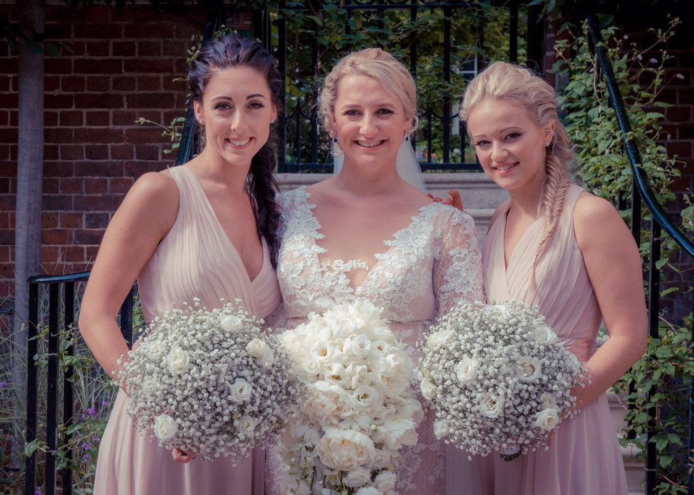 Photographer: Rosanna Lilly Hair + Makeup: Jennifer Lo Bridesmaid Makeup: Lisa Victoria