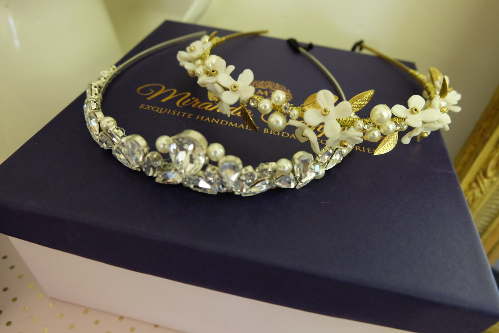 A couple of the stunning head bands, I love the big chunky jewels!