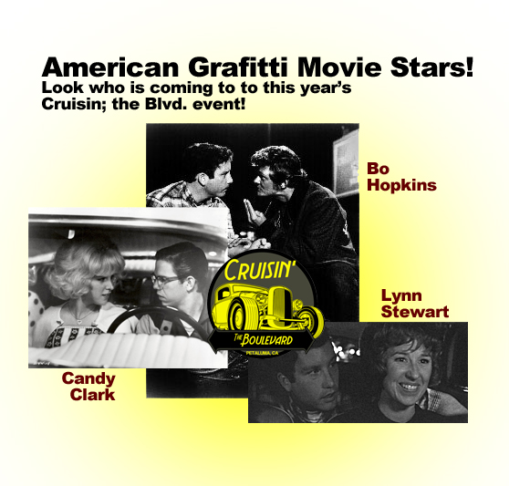 American Graffiti movie stars