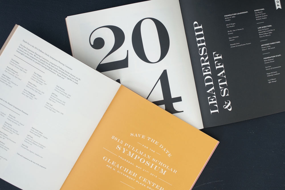2014 Pullman Foundation Annual Report