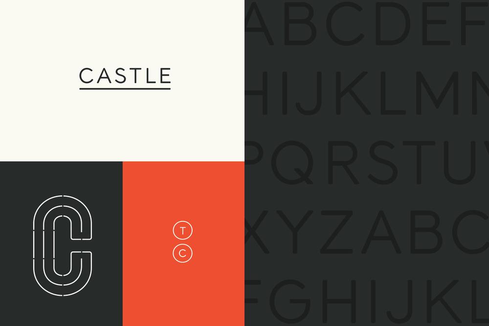 Taylor Castle Branding
