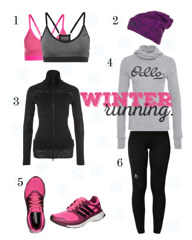 My Winter Running Favourites.