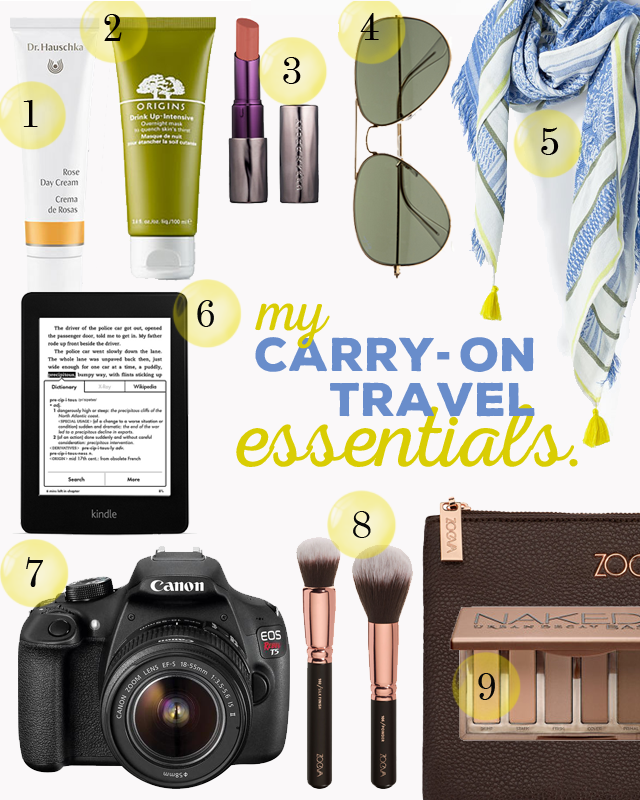 my carry on travel essentials | Dont risk it for a biscuit