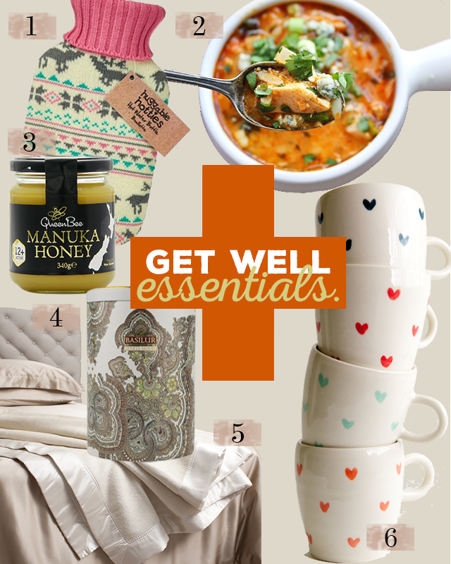 my get well essentials | dont risk it for a biscuit