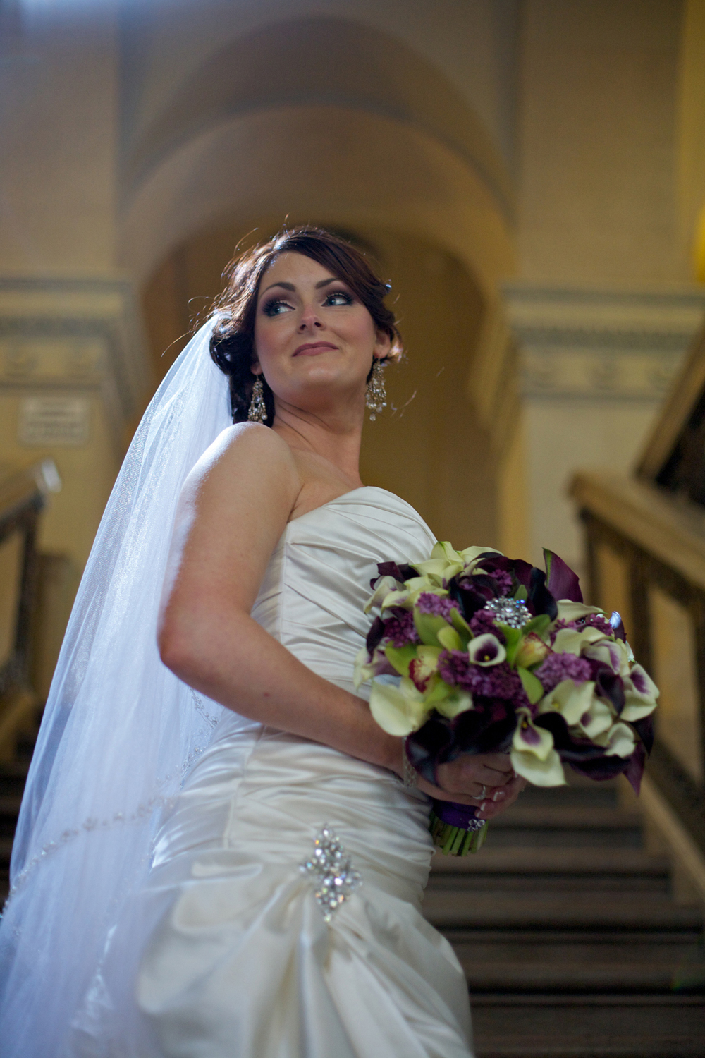 Bride at The Majestic Downtown in Los Angeles