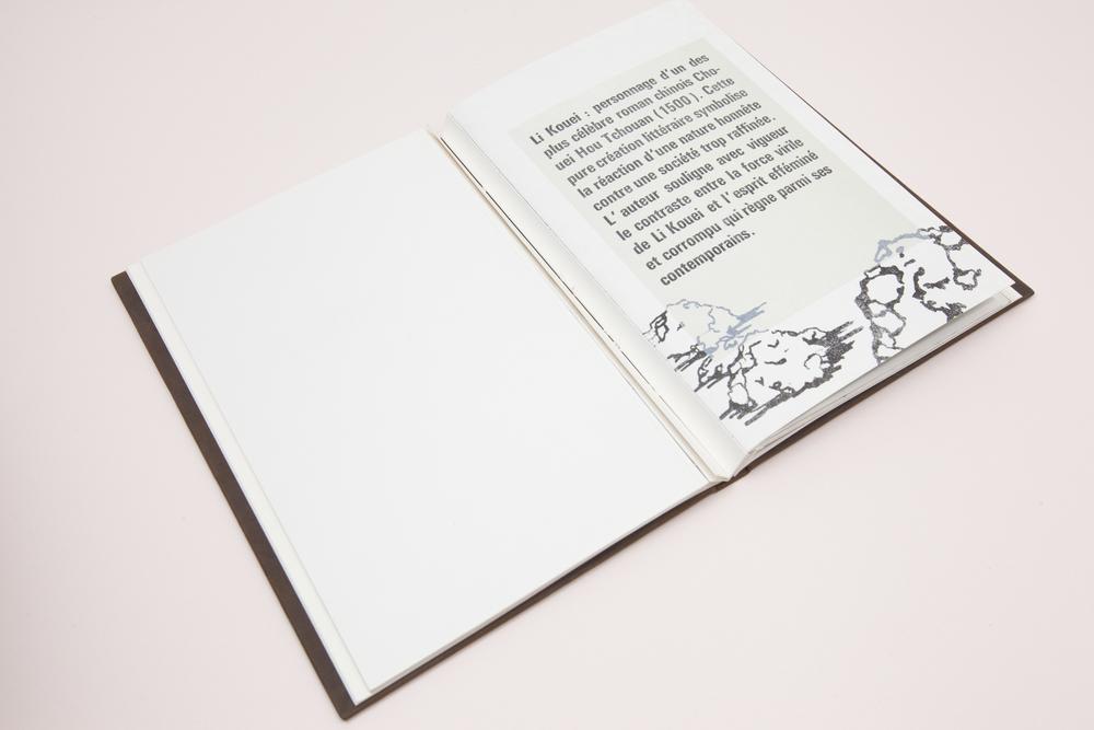Livre conçu &imprimé en sérigraphie, linogravure, lithographie et typo plomb