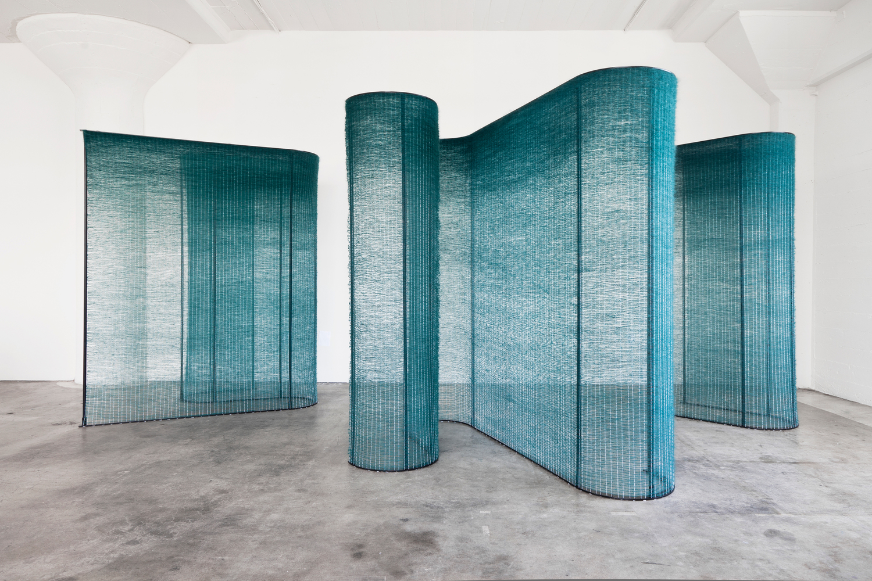 four teal walls — mimi jung