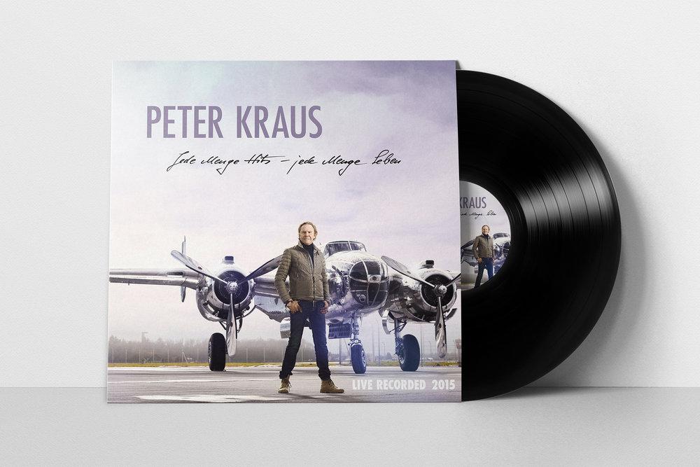 <strong> Peter Kraus »JEDE MENGE HITS - JEDE MENGE LEBEN« </strong> | Vinyl LP