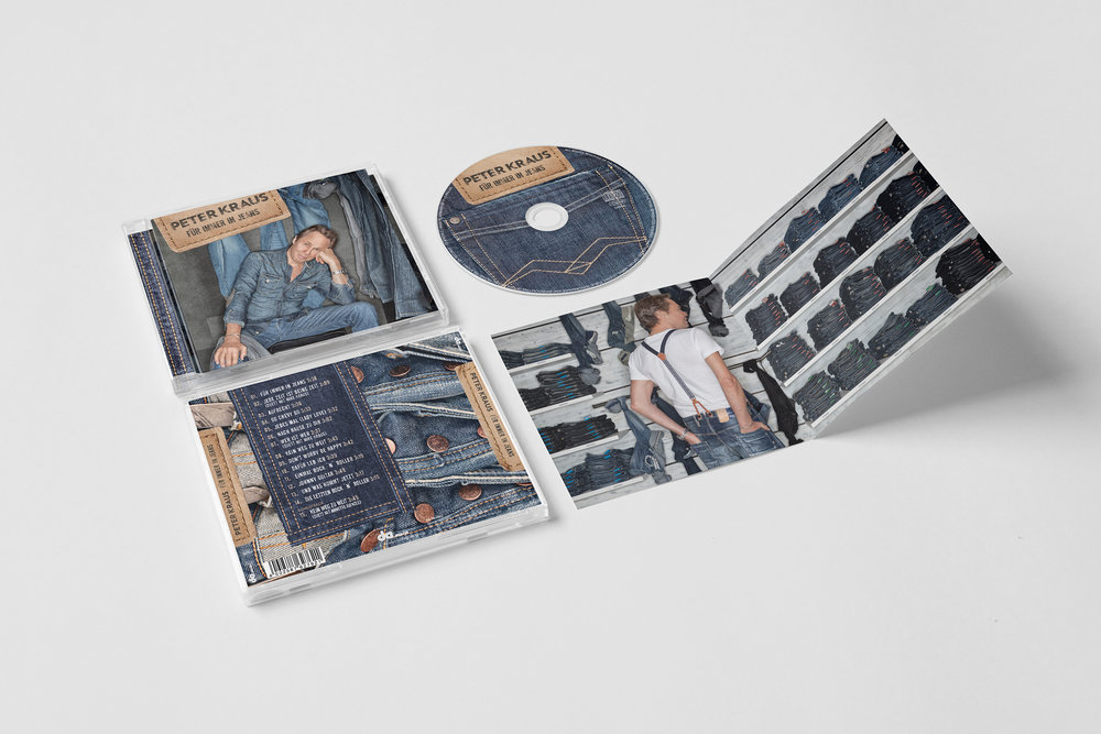 <strong> Peter Kraus »FÜR IMMER IN JEANS« </strong> | Vinyl LP