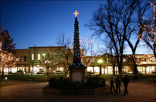 The Plaza at Christmas
