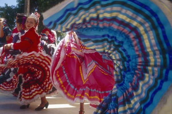 Santa Fe embodies the best of the Southwest, proudly proclaiming its tri-cultural blend of Hispanic, Native   American, and Anglo traditions.  (Mark Kane/Santa Fe, NM Convention and Visitors Bureau)