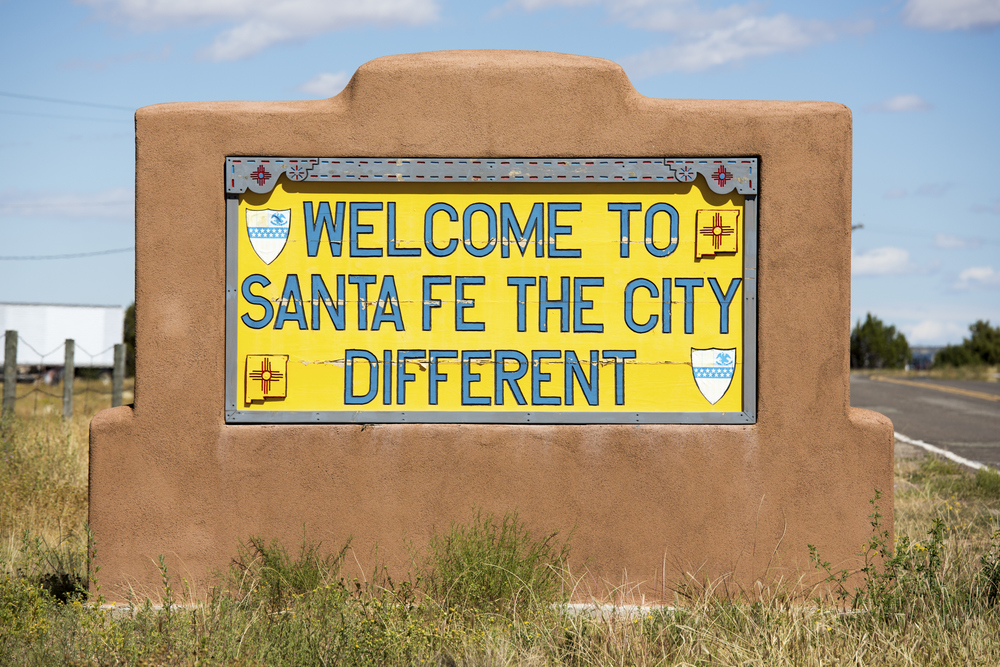 Welcome to Santa Fe - The City Different!