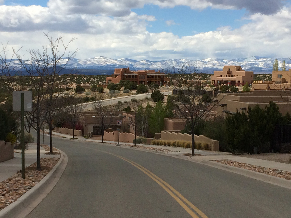 Welcome to Aldea de Santa Fe (photo courtesy of Lisa Hinson)