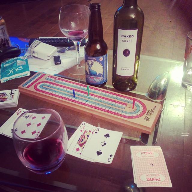 Friday night jams! #crib #wine #beer #goodtunes #goodfriends #roomies