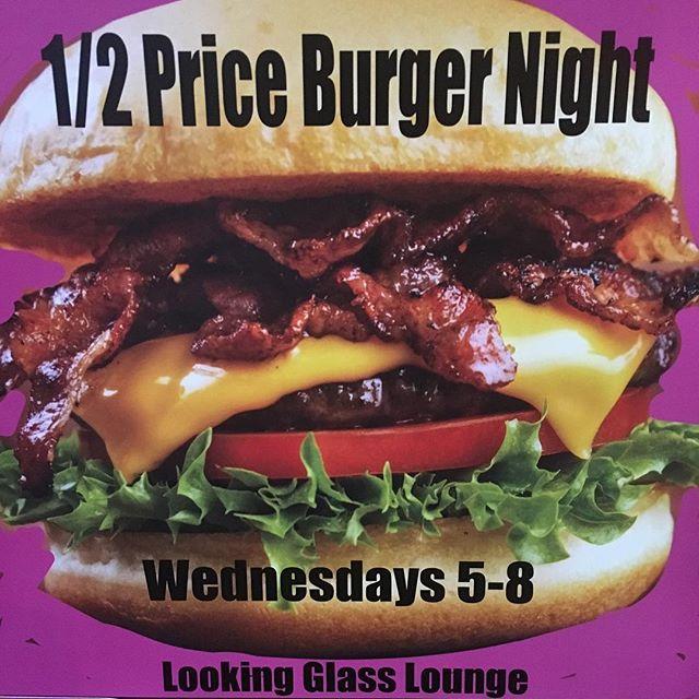 Burger night #HappyHour #burger #addbacon