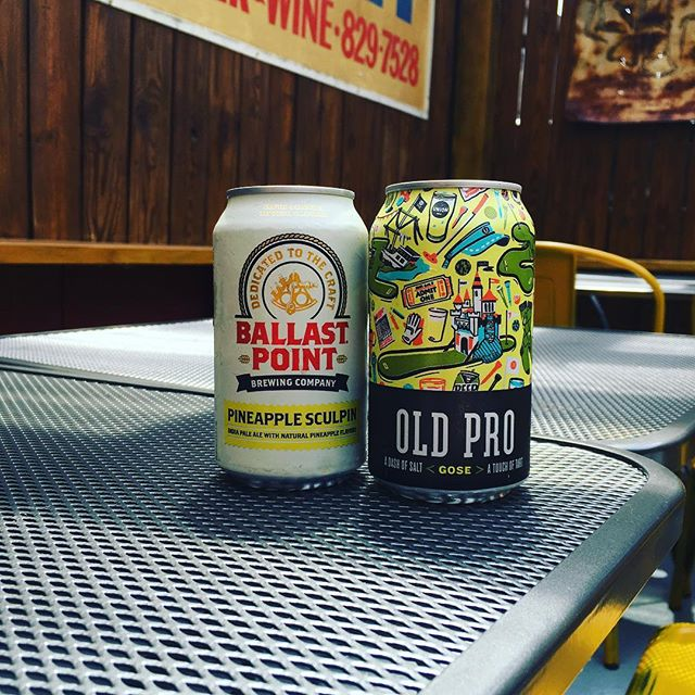 We've added these refreshing new beers to the lineup. @ballastpointbrewing @unionbrewing #heatwave #staycool😎 #drinkupdc