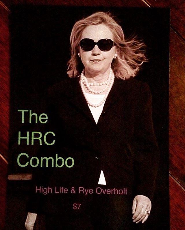 In lieu of our Yuengling combo we are introducing the HRC. Hilife and a shot of Rye Overholt. $7 every day, all night long! @hillaryclinton @lookingglasslounge #petworthdc #combos #dchappyhour