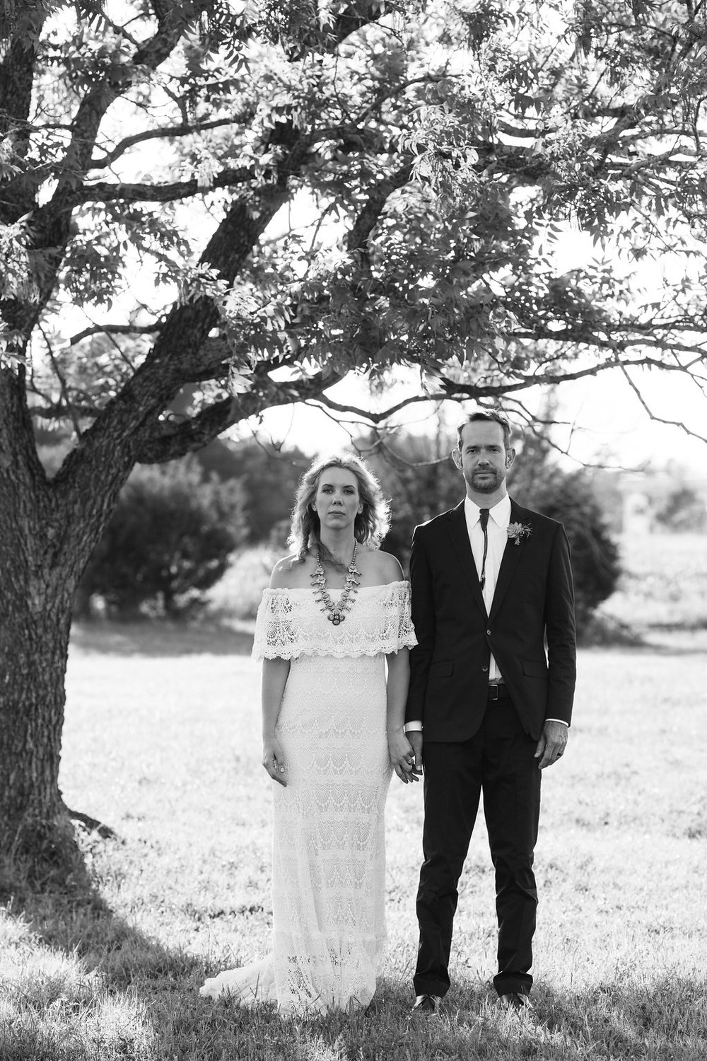 LIBBY & WESLEY   -  WE CONTRIBUTED: The Winnie Gown by Daughters of SimoneHow did you get engaged?